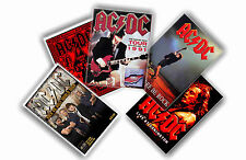 AC/DC - SET OF 5 A4 POSTERS # 2