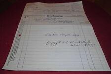 rechnung alt antik aug. mayer holzwaren fabrik biberach württemberg 1919 papier