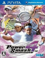 Used PS Vita Power Smash 4 Virtua tennis SONY PLAYSTATION JAPANESE IMPORT