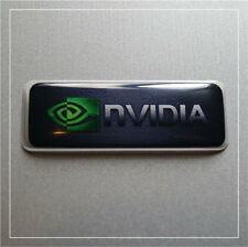 "nVidia Sticker 1.5""x0.5"" (38mm x 14mm) Domed Logo Case Badge"