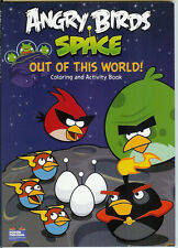 CHILDREN'S BOOK ANGRY BIRDS SPACE OUT OF THIS WORLD COLORING AND ACTIVITY BOOK