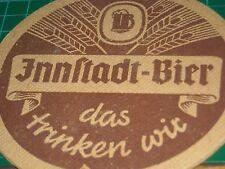 sottobicchiere beer mats birra bierdeckel INNSTADT BIER