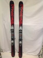 TWIN TIP,NEW Primal wood ski, 155cm  w/used Speed Point Marker Bindings, Fitting