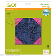 """AccuQuilt GO! Fabric Cutter Cutting Die Snowball 6"""" Finished 55330 Quilting"""