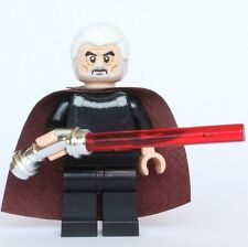 Lego Star Wars Custom Count Dooku Minifigure (Episode II Version) - US Seller