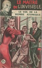 Le Maitre de l'Invisible/Le Vol de la Bombe Atomique/Edward Brooker/n°1/1953