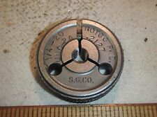 THREAD GAGE 1/4 - 20 UNC-2A NOT GO P.D. .2127 OUTSIDE THREAD RING GAUGE S.G. CO