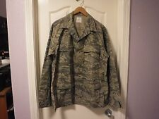 Mens Coat Shirt Jacket Airman Battle Uniform ABU 44L 8415-01-536-4591 NWOT