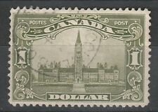 CANADA 1928 PARLIAMENT HOUSE $1 USED