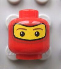 Lego Minifigure HEAD Balaclava SKI MASK Red- Spider-man- Soldier