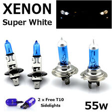 H1 H7 T10 55w SUPER WHITE XENON Main/Dipped/Side Beam Head Light Bulbs 12v HID