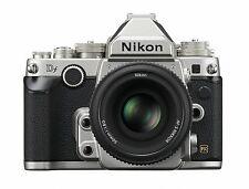 Nikon Df 16.2MP Digital SLR Camera Body + DF 50mm F/1.8 Lens kit -Silver-