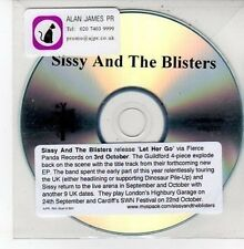 (DD726) Sissy & The Blisters, Let Her Go - DJ CD