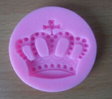 IMPERIAL CROWN SHAPE 3D SILICONE MOULD FONDANT FOR CAKES SOAP CANDLES DECORATION
