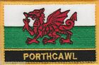 Porthcawl Wales Cymru Town & City Embroidered Sew on Patch Badge