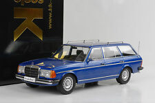 1978 Mercedes-Benz 250T W123 Kombi Estate blue blau metallic 1:18 KK diecast