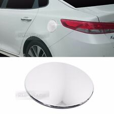 Chrome Oil Fuel Cap Gas Tank Cover Garnish Molding Trim for KIA 2016 2017 Optima