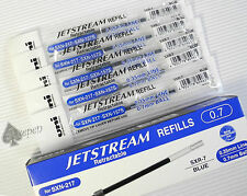 12 Uni-Ball Jetstream SXR-7 roller ball refills for SXN-157S & SXN-217 BLUE ink