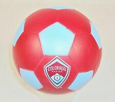 FoamHead Mini Indoor/Outdoor Soccer Ball ~ MLS Licensed Colorado Rapids