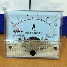 Class 2.5 Accuracy AC 0-10A Dial Analog Panel Meter Gauge 85L1-A