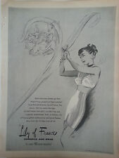 1946 Vintage Lily of France Corsets Bras Girdle Style Conscious Women Ad