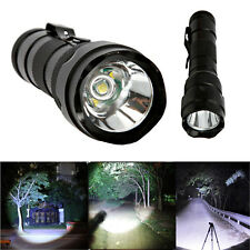 Super Bright XML T6 LED 5 Modes Flashlight Torch Lamp Aluminum Alloy