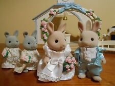 Sylvanian Families Wedding Chapel with figures