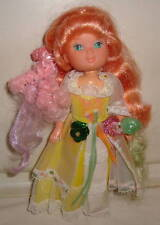 LADY LOVELY LOCKS MAIDEN CURLY CROWN DOLL WITH 2 PIXIETAILS
