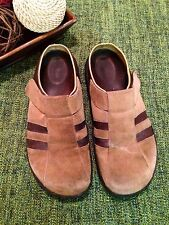 Birkenstock Tatami Men's Suede Brown Casual Mules Clogs Size 11 USED