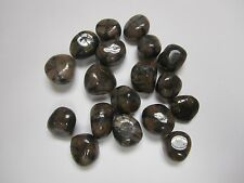 BULK 1/2 LB. MED. TUMBLED POLISHED ANDALUSITE STONES- 18-20 PCS-COMPARE