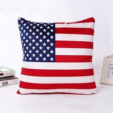 America national flag pillow case USA Sofa US Cover Square United states Cushion