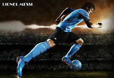 003 HIGHT QUALITY POSTER LIONEL LEO MESSI WORLD FAMOUS SOCCER PLAYER