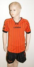 TOP ! 14 Trikot-Sets (Trikot+Hose) ZANTE  v. LEGEA, schwarz/orange ,2XS,S