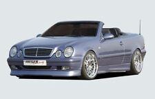 Rieger Frontspoilerlippe für Mercedes Benz CLK W208 Coupe/ Cabrio