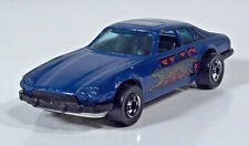 "Vintage Hot Wheels 1977 Jaguar XJS 3"" Scale Model Dark Blue"