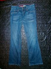 TOMMY HILFIGER FREEDOM BOOT CUT DENIM JEANS Ladies Sz 10 retro blue men unisex