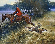 Fox Hunting Open edt print by M Cawston We won't be beaten on price! CWNGO-29