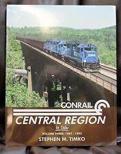 MORNING SUN BOOKS - CONRAIL CENTRAL REGION In Color Volume 3 - HC 128 Pages