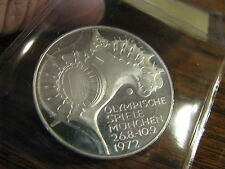 1972 D  West Germany 10 Mark  Silver Coin   Proof    Box# NB PP