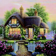 Cottage House DIY Diamond Painting Mosaic Kit Picture