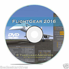 AVIATION FLIGHTGEAR FLIGHT SIMULATOR, 440 EXTRA AIRCRAFT FOR FREE, AIRCRANE