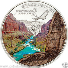 Grand Canyon Spectacular Landscape  $ 5 -Silver  Coin Proof- 2014 Cook Islands
