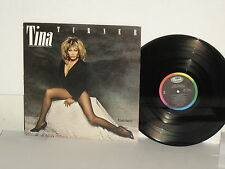 TINA TURNER Private Dancer LP vinyl Jeff Beck 1984 What's Love Got To Do With It