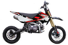 "Cenkoo CNKO-125 125cc 14/12"" Cross Dirt Bike Pit Bike Schwarz"