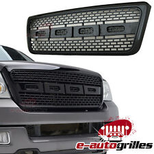 04-08 Ford F-150 Raptor Black ABS  Packaged Front Grille Grill W/Shell