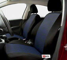 Seat covers full set for Peugeot  206 - black/blue