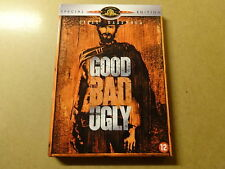 2-DISC SPECIAL EDITION DVD / THE GOOD THE BAD AND THE UGLY ( CLINT EASTWOOD )