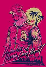 "Hotline Miami Game poster 36"" x 24"" Decor 01"