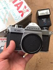 Vtg 80s PENTAX K1000 ASAHI 35mm Film Camera Original Box *Estate Find ~ AS-IS*