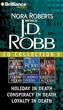 In Death: J. D. Robb CD Collection 3 : Holiday in Death - Conspiracy in Death...